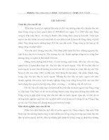 TÌNH HÌNH THU HÚT ĐẦU TƯ NƯỚC NGOÀI TẠI TỔNG CÔNG TY LẮP MÁY VIỆT NAM (LILAMA)