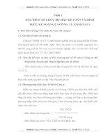 TỔ CHỨC BỘ MÁY KẾ TOÁN VÀ HÌNH THỨC KẾ TOÁN CỦA CÔNG TY TNHH N.G.V