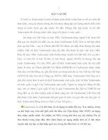 NGHIÊN CỨU LỰA CHỌN HỆ THỐNG BÀI TẬP BỔ TRỢ CHUYÊN MÔN TRONG GIẢNG DẠY CÁC KỸ THUẬT ĐÒN CHÂN CHO SINH VIÊN CHUYÊN SÂU TAEKWONDO (HỆ CAO ĐẲNG) TRƯỜNG ĐẠI HỌC - THỂ DỤC THỂ THAO ĐÀ NẴNG