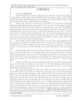 Một số biện pháp để phát huy tính tích cực của học sinh lớp 9 trong dạy học Lịch sử ở Trường Trung học cơ sở Ninh Điền