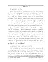 MỘT SỐ GIẢI PHÁP HOÀN THIỆN CÔNG TÁC HUY ĐỘNG VỐN ĐẦU TƯ PHÁT TRIỂN CƠ SỞ HẠ TẦNG ĐÔ THỊ TẠI TP.VIỆT TRÌ