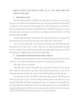 NHỮNG ẢNH HƯỞNG CỦA KHỦNG HOẢNG NỢ CÔNG CHÂU ÂU ĐẾN NỀN KINH TẾ VIỆT NAM VÀ BÀI HỌC KINH NGHIỆM