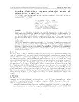 XÂY DỰNG CHƯƠNG TRÌNH TÍNH TOÁN NHIỆT CHU TRÌNH, CHỌN MÁY NÉN VÀ THIẾT BỊ PHỤ CỦA HỆ THỐNG LẠNH 1 CẤP