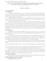 ỨNG DỤNG MICROSOFT POWERPOINT 2003 TRONG SOẠN GIẢNG BÀI GIẢNG ĐIỆN TỬ Ở TRƯỜNG THCS CÁT NHƠN