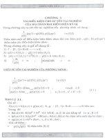 vài điều kiện cho sự tồn tại nghiệm của bài toán hai điểm biên kỳ dị