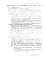 Những lí luận cơ bản về giải quyết tranh chấp kinh doanh , thương mại tại toà án