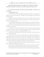 HỘI NHẬP KINH TẾ QUỐC TẾ THỜI CƠ VÀ THÁCH THỨC ĐỐI                               VỚI VIỆC THU HÚT VỐN ĐẦU TƯ NƯỚC NGOÀI VÀO VIỆT NAM