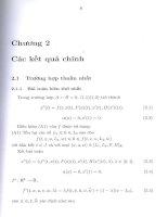 các kết quả chính  bài toán về phương pháp bậc tôpô cho bài toán biên