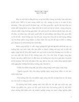 SỰ CẦN THIẾT PHẢI HÌNH THÀNH CÁC KHU  CÔNG NGHIỆP TRÊN ĐỊA BÀN TỈNH BẮC GIANG