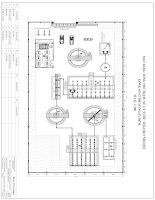 sơ đồ tổng thể mặt bằng trạm xử lý nước thải