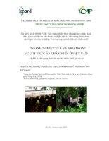 Doanh nghiệp vừa và nhỏ trong ngành thức ăn chăn nuôi ở Việt Nam