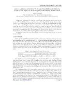 ứng dụng mô hình MM5 trong nghiên cứu hiệu ứng đảo nhiệt