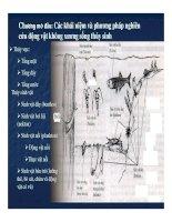 Phương pháp nghiên cứu động vật không xương sống thủy sinh
