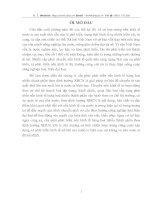 CƠ SỞ LÝ LUẬN CỦA VIỆC PHÁT TRIỂN KINH TẾ HÀNG HOÁ NHIỀU THÀNH PHẦN TRONG THỜI KỲ QUÁ ĐỘ ĐI LÊN CNXH NÓI CHUNG