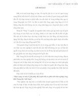 THỰC TRẠNG VÀ GIẢI PHÁP NHẰM ĐẨY MẠNH ĐẦU TƯ PHÁT TRIỂN LÂM NGHIỆP VÙNG BẮC TRUNG BỘ VIỆT NAM
