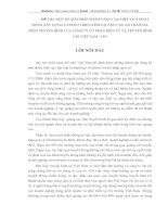 MỘT SỐ GIẢI PHÁP NHẰM NÂNG CAO HIỆU QUẢ HOẠT ĐỘNG XÂY DỰNG VÀ PHÁT TRIỂN KÊNH QUẢNG CÁO AD CHANNEL TRÊN TRUYỀN HÌNH CỦA CÔNG TY CỔ PHẦN ĐIỆN TỬ VÀ TRUYỀN HÌNH CÁP VIỆT NAM - CEC