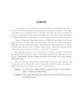 523 Hoàn thiện việc lập & phân tích tài chính của Công ty thương mại Thành Hưng