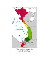 Vai trò và những đóng góp của chúa Nguyễn Phúc Nguyên đối với công cuộc khai phá, mở rộng lãnh thổ vè phía nam