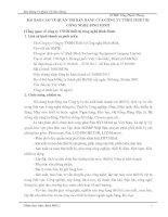 BÀI BÁO CÁO VỀ QUẢN TRỊ BÁN HÀNG CỦA CÔNG TY TNHH THIẾT BỊ CÔNG NGHỆ BÌNH MINH