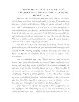 TIẾN TRÌNH LỊCH SỬ VIỆT NAM CÁC CUỘC KHÁNG CHIẾN BẢO VỆ ĐẤT NƯỚC TRONG THỜI KỲ TỰ CHỦ