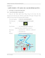 giới thiệu khu du lịch Bình Quới 1