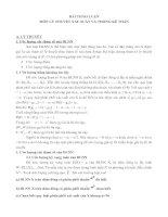 Bài thảo luận môn lý thuyết xác suất và thống kê toán