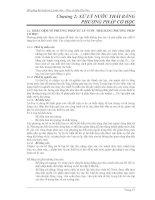 bài giảng kỹ thuật xử lý nước thải chương 2