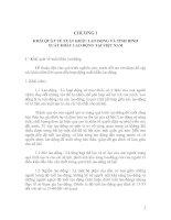 KHÁI QUÁT VỀ XUẤT KHẨU LAO ĐỘNG VÀ TÌNH HÌNH XUẤT KHẨU LAO ĐỘNG TẠI VIỆT NAM