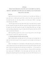 PHÂN TÍCH NỘI DUNG NGUYÊN TẮC TOÀN DIỆN VÀ CHỨNG MINH SỰ THỂ HIỆN NGUYÊN TẮC NÀY TRONG LUẬT NGÂN SÁCH NHÀ NƯỚC NĂM 2002