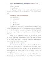 Những nguyên tắc cơ bản của thư điện tử