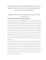 PHÉP BIỆN CHỨNG VỀ MỐI QUAN HỆ PHỔ BIẾN VÀ VẬN DỤNG PHÂN TÍCH MỐI LIÊN HỆ GIỮA XÂY DỰNG NỀN KINH TẾ DỘC LẬP TỰ CHỦ VỚI HỘI NHẬP KINH TẾ