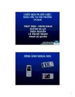 Chiến dịch PR giới thiệu Nokia N95 tại thị trường TP.HCM
