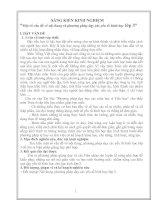 Một số vấn đề về nội dung và phương pháp dạy các yếu tố hình học lớp 3