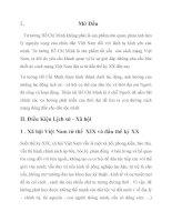 """"""" vị trí cỉa Sơ thảo lần thứ nhất những luận cương về vấn đề dân tộc và thuộc địa trong tiến trình tư tưởng Hồ Chí Minh"""