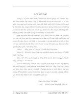 TÌNH HÌNH TỔ CHỨC CÔNG  TÁC  KẾ TOÁN TẠI CÔNG TY TNHH ĐẦU TƯ VÀ   XÂY DỰNG THÀNH LONG
