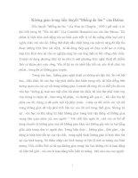 """Không gian trong tiểu thuyết """"Miếng da lừa """" của Balzac"""