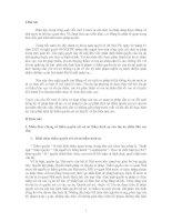 Nhân thức chung về thẩm quyền xét xử sơ thẩm hình sự của tòa án nhân dân các cấp