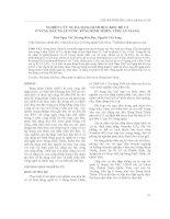 NGHIÊN CỨU SỰ ĐA DẠNG SINH HỌC KHU HỆ CÁ  Ở VÙNG ĐẤT NGẬP NƯỚC BÚNG BÌNH THIÊN, TỈNH AN GIANG