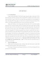 Xây dựng chiến lược bán hàng cho Công ty Cổ Phần Mỹ Việt giai đoạn 2011 – 2015