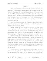 NGHIÊN CỨU ẢNH HƯỞNG CỦA ĐẤT BỊ NHIỄM KIM LOẠI NẶNG ĐẾN THÀNH PHẦN LOÀI VÀ MỘT SỐ ĐẶC ĐIỂM ĐỊNH LƯỢNG CỦA BỌ NHẢY Ở HƯNG YÊN