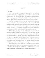 ỨNG DỤNG PLC ĐIỀU KHIỂN MÔ HÌNH KHÂU TINH LỌC NƯỚC DỨA SAU KHI TRÍCH ÉP