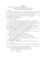 CÁO NGHIÊN CỨU KHẢ THI ĐẦU TƯ XÂY DỰNG TUYẾN ĐƯỜNG QUA 2  ĐIỂM A-B