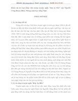 """Khảo sát từ loại tiếng việt trong truyện ngắn """"kép tư bền"""" của Nguyễn Công Hoan"""