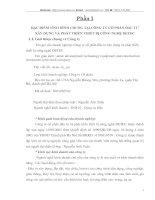 ĐẶC ĐIỂM TÌNH HÌNH CHUNG TẠI CÔNG TY CỔ PHẦN ĐẦU TƯ XÂY DỰNG VÀ PHÁT TRIỂN THIẾT BỊ CÔNG NGHỆ DETEC