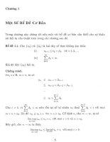 một số phương pháp proximal điểm trong cho bài toán cực điểm lồi và cho bất đẳng thức biến thân, chương 1
