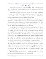 CÁC GIẢI PHÁP NHẰM NÂNG CAO HIỆU QUẢ HOẠT ĐỘNG CHUYỂN GIAO CÔNG NGHỆ NƯỚC NGOÀI TẠI VIỆT NAM