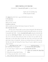 Bài giảng: Hồi trống cổ thành trích hồi 28 Tam quốc diễn nghĩa