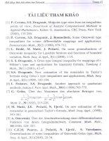 các bất đẳng thức tích phân thuộc loại Ostrowski và các áp dụng của nó 7_2