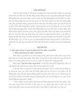 quan hệ pháp luật hôn nhân và gia đình