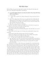 PHÂN TÍCH QUÁ TRÌNH HÌNH THÀNH VÀ PHÁT TRIỂN ĐƯỜNG LỐI XÂY DỰNG NỀN KINH TẾ THỊ TRƯỜNG ĐỊNH HƯỚNG XHCN CỦA ĐẢNG TA